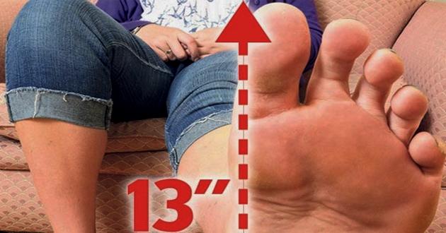 piedi più grandi