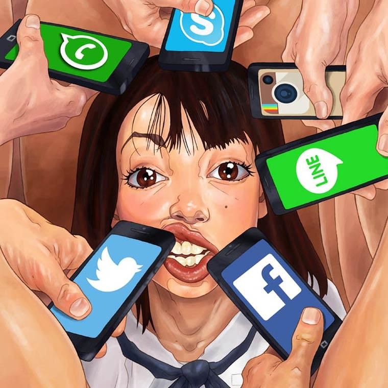illustrazioni trash
